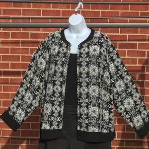 Liz Claiborne buttoned sweater size 2x